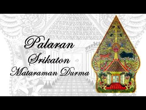 Gending Jawa Palaran Srikaton Mataraman Durma