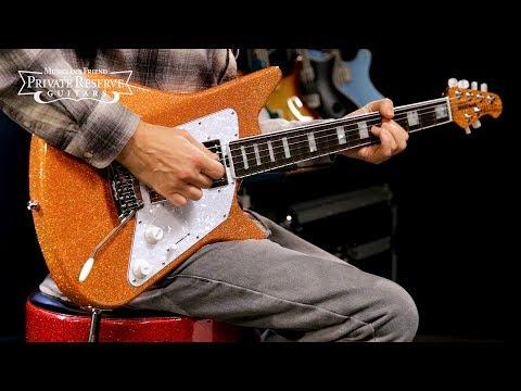 Ernie Ball Music Man BFR Orange Crush Albert Lee HH Electric Guitar