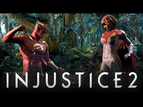 "Injustice 2: Original Character Roster REVEALED w/ Cancelled ""DINO ISLAND"" Arena! (Injustice 2)"