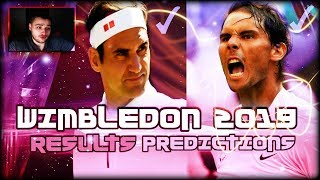 Wimbledon 2019 - Third Round Results and Fourth Round Predictions