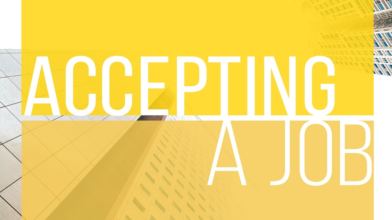 7 Questions To Ask Yourself Before Accepting A Job | The Financial Diet