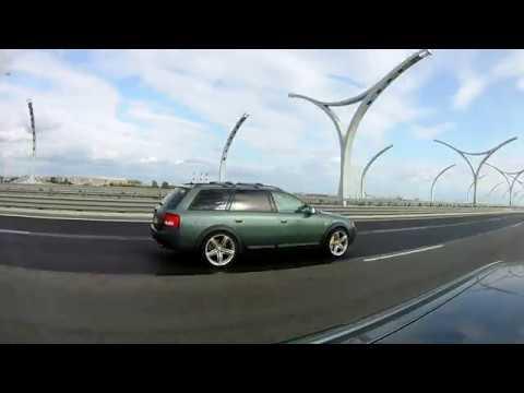 Audi Allroad в динамике. Ппуушшка!