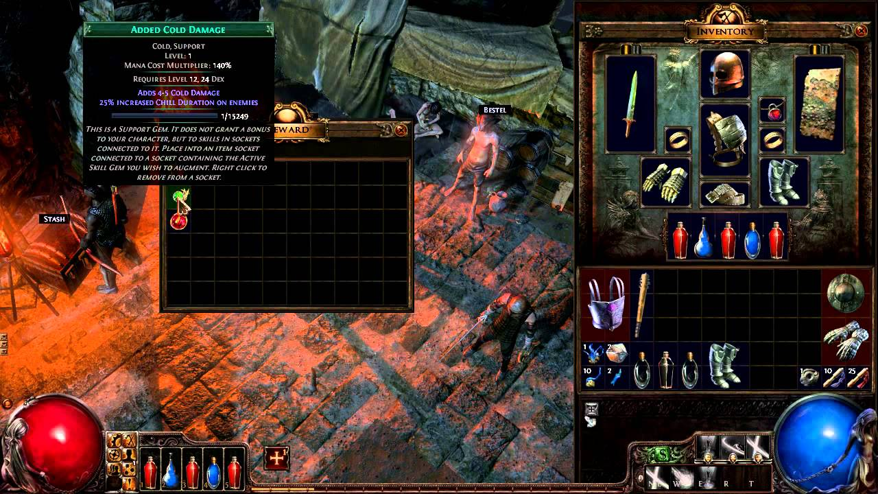 Path of Exile - gameplay 7 - YouTube
