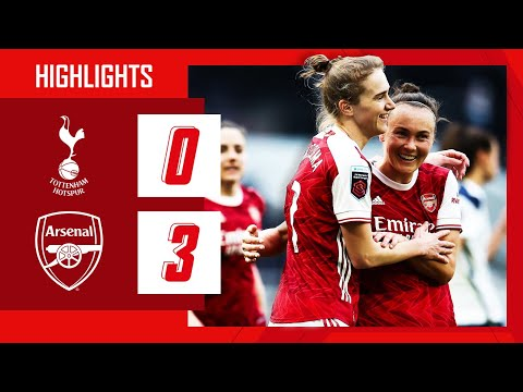 HIGHLIGHTS | North London derby victory! | Spurs vs Arsenal (0-3) | Women's Super League