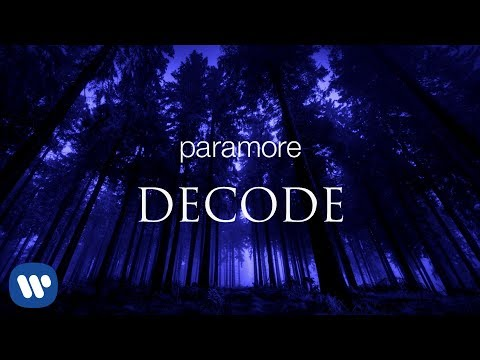 Paramore - Decode (Official Instrumental)