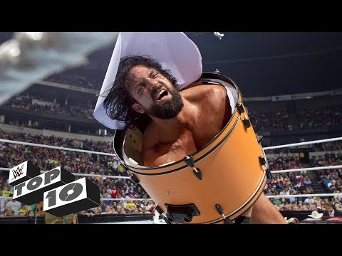 Superstar mayhem with musical instruments: WWE Top 10, Nov. 6, 2017