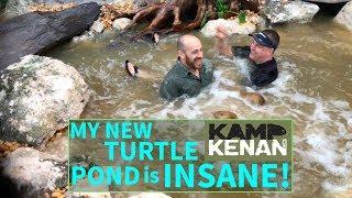 Wie baut man einen $14k Turtle Pond in 10 Stunden!