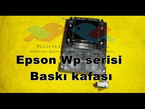 Epson Wf-5620 Serisi Baskı Kafası