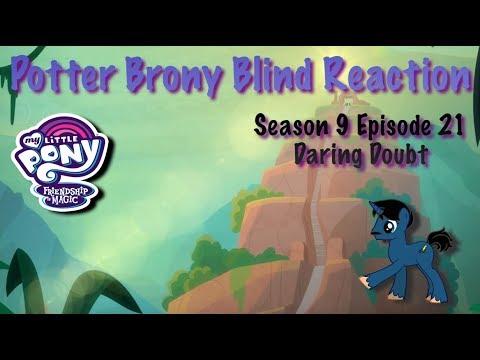 Download PotterBrony Blind Reaction MLP FiM Season 9 Episode 21 Daring Doubt