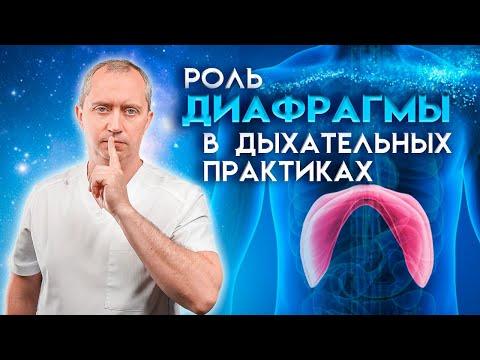 Дыхательные практики от Доктора Шишонина. Видео №1 - Роль диафрагмы в дыхательных практиках