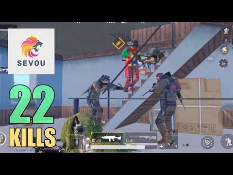 SNEAK ATTACK ON FULL SQUAD | 22 KILLS | PUBG Mobile