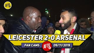 Leicester City 2-0 Arsenal | Mourinho Has Disrespected This Club Why Go For Him?! (Moh)