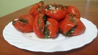 Как вкусно заквасить помидоры Фаршированные помидоры Домашний простой рецепт