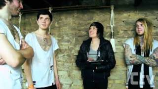 MAKE ME FAMOUS interview   Traveling 10,000 miles   Debut record discussion - YouTube.flv