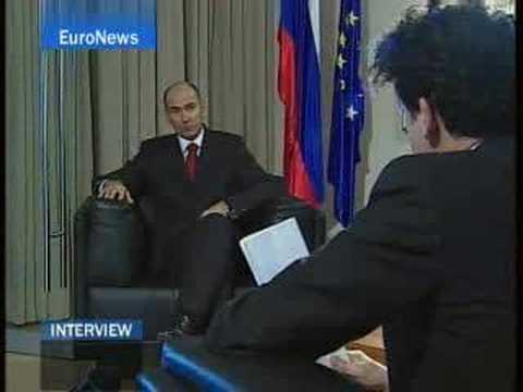 EuroNews - Interview - PM Janez Jansa speaks about Slovenia