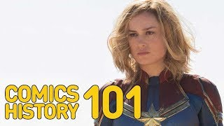 Who Is Captain Marvel? - Comics History 101