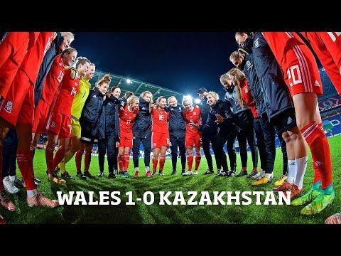 WALES WOMENS 1-0 KAZAKHSTAN