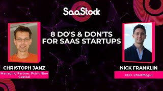 8 DOs and DON'Ts for SaaS Startups