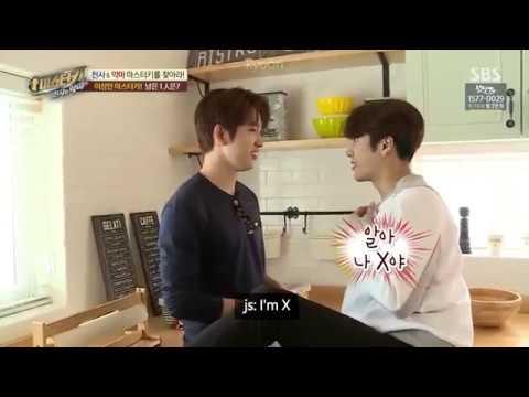[ENG] Jackson & Jinyoung Master Key Ep 6 Cut