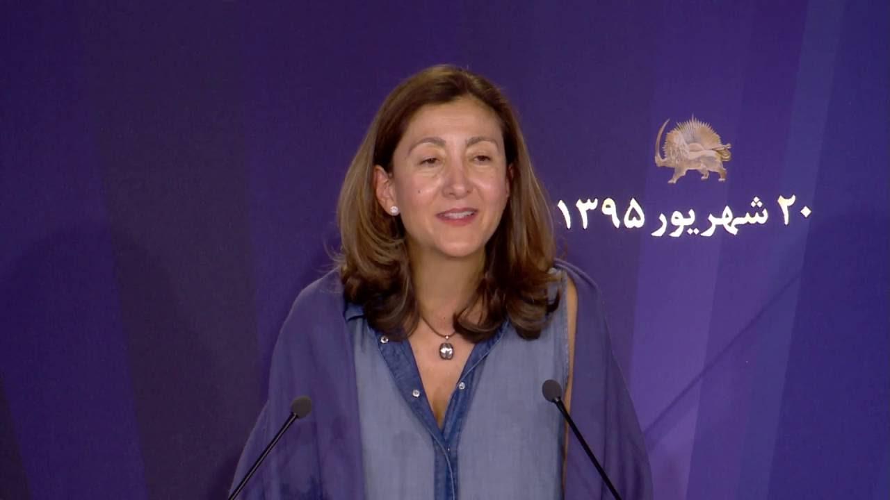Déplacement des résistants iranien d'Irak, « C'est le combat de Maryam Radjavi » (Ingrid Betancourt)