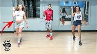 Baixar Grávida de 9 meses arrasa dançando Ta Tum Tum - Kevinho e Simone & Simaria COREOGRAFIA