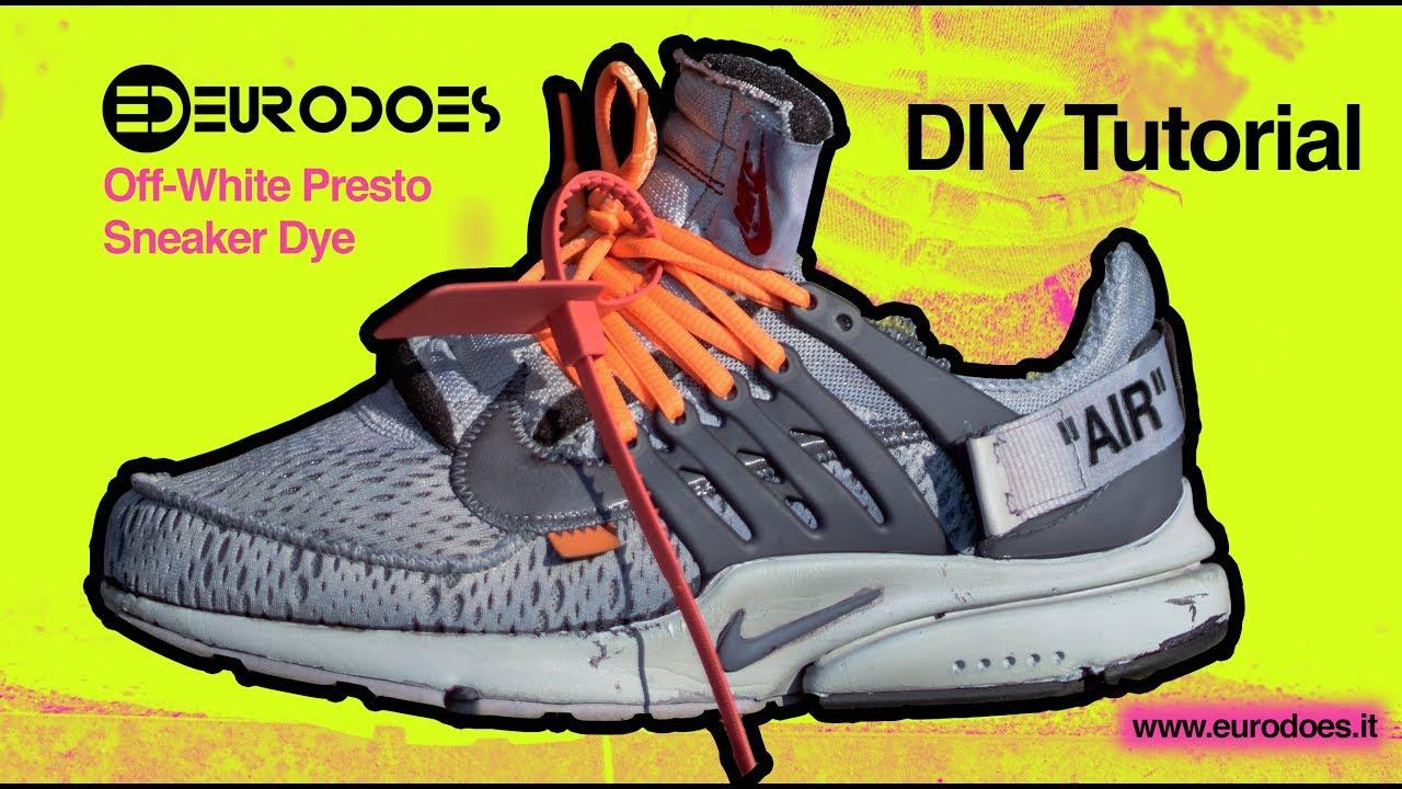 DIY EURODOES: Nike Off White Presto Tie