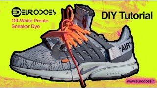 DIY EURODOES: Nike Off White Presto Tie Dye