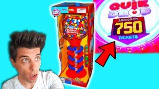 Can I Win It? GIANT Gumball Machine! Video