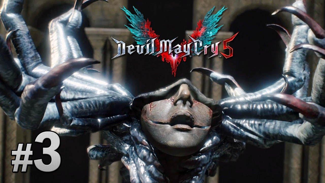 #03 從深處救出「Lady」 Devil May Cry 5 惡魔獵人 5 中文字幕 - YouTube