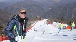 Brettere mit Russi über die neue Olympia-Abfahrt in Südkorea!