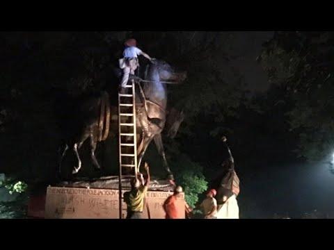 Baltimore becomes latest city to remove Confederate statues