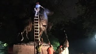 Baltimore becomes latest city to remove Confederate statues