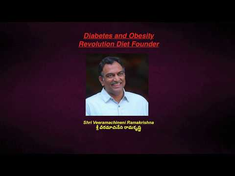 Veramachineni Liquid diet for complete cure Diabetes : Million peoples are getting benefited...