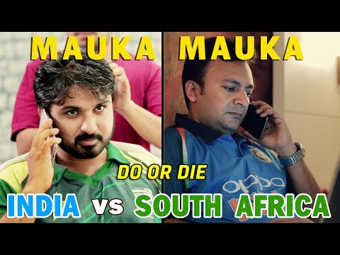 Mauka Mauka | India vs South Africa Champions Trophy 2017 | Do or Die