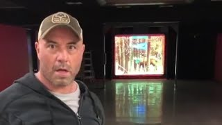 Joe Rogan impressed with his techno hunt bow hunting game.