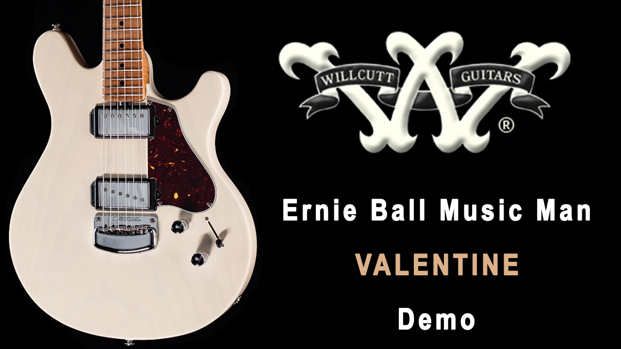 Ernie Ball Music Man VALENTINE Demo Review YouTube