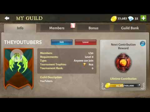 Dungeon Hunter 5 New Guild.