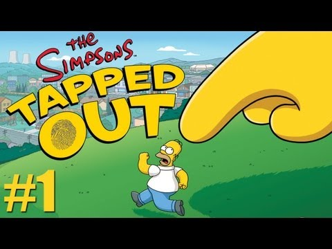 The Simpsons Tapped Out - A Job Mediocrely Done (Part 1)