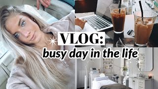 VLOG: a busy day in my life