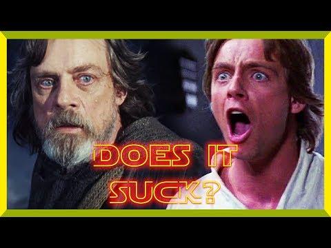 Why The Last Jedi Sucks - Review (Spoilers)
