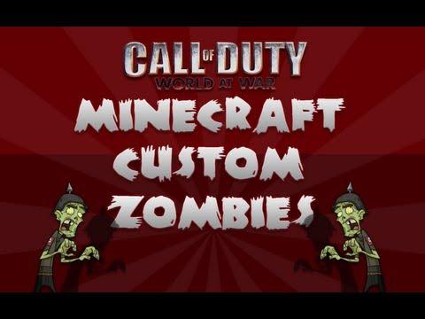 Minecraft Custom Zombies Map Trailer - World At War