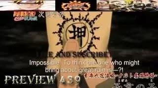 Naruto Shippuden Episode 439 Preview Sub ナルト疾風伝  HD