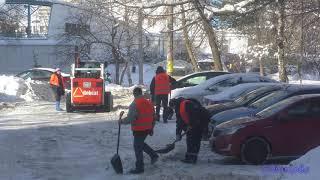 видео вывоз снега в Одинцово