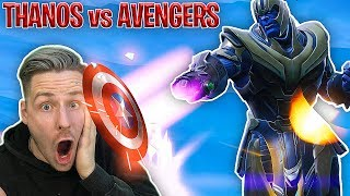 THANOS ist zurück in FORTNITE ! AVENGERS vs THANOS Event!