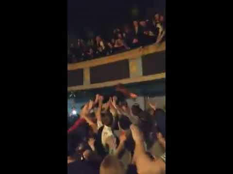 Mac Demarco jumps off balcony on crowd  | Danforth Music Hall 2017