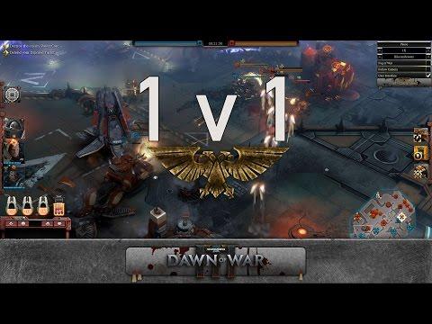 Dawn of War 3 - 1v1 | bikerushownz [vs] Galahad