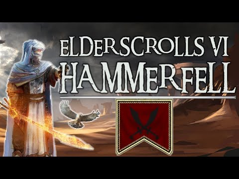 What might Elder Scrolls VI: Hammerfell be like? [ Jedi Order l Redguard l Thieves Guild l Thalmor ]