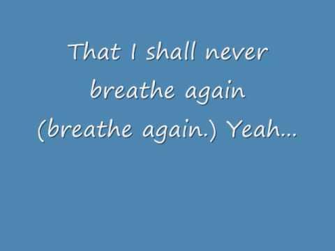 Toni Braxton - Breathe Again (Lyrics)