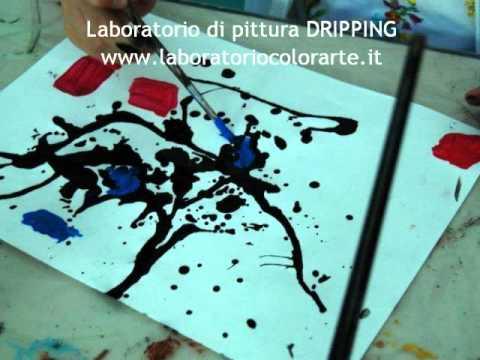 La tecnica del Dripping (Pollock) | Laboratorio COLORARTE