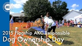 2015 Flagship AKC Responsible Dog Ownership Day